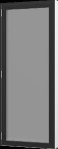 Rationel vinduesdør. Fås i både Basic og Premium versioner